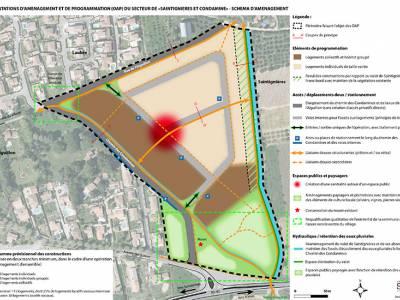 6. Mission d'assistance globale en vue de l'aménagement de la zone dite « Saintignière et Condamines »